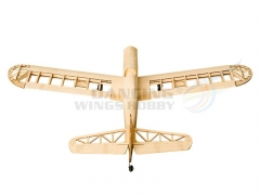 RC Training Airplane Astro Junior Balsa Wood Kit Gas&Eletric Power Supported